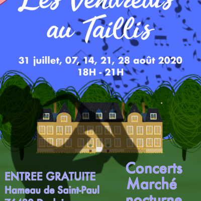 Les Vendredis au Taillis